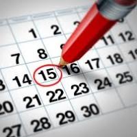 Calendario Periodo Septiembre - Diciembre 2016