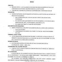 Convocatoria para el Concurso de Becas de Exención de Pago de Reinscripción al Cuatrimestre Enero - Abril 2016