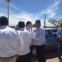 Visita Gobernador del Estado UTLP