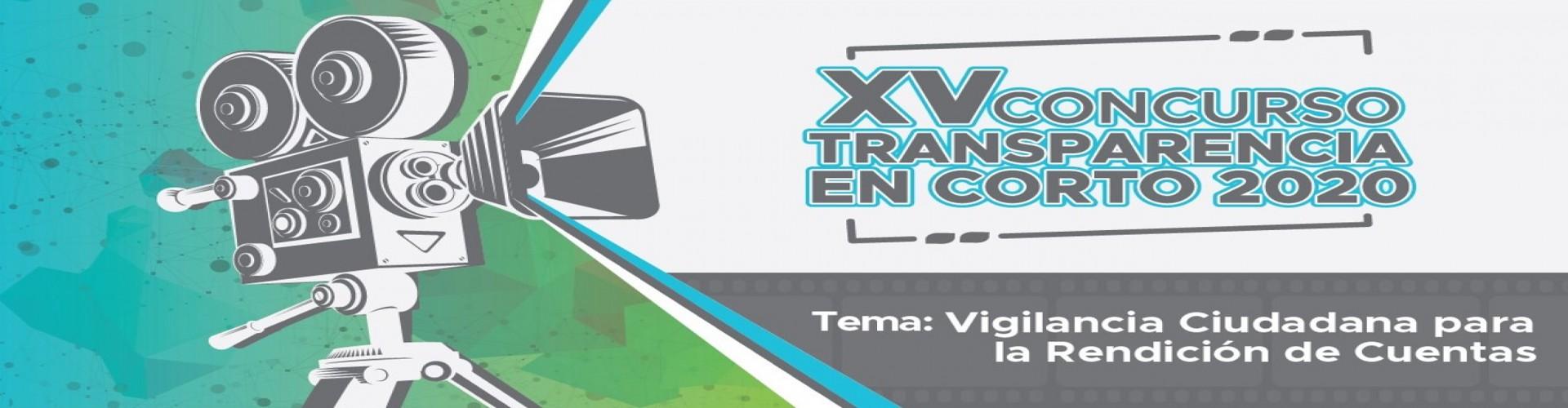 XV Concurso transparencia en corto 2020