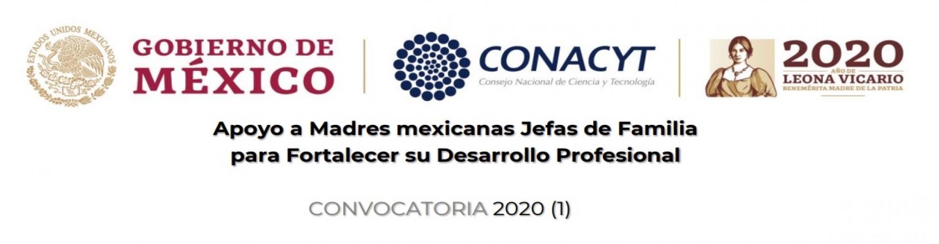Convocatoria Apoyo a madres mexicanas jefas de familia para fortalecer su desarrollo profesional 2020