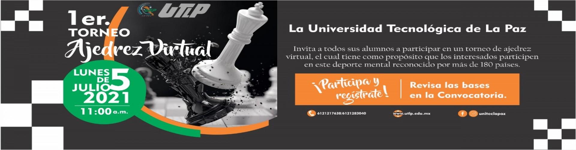 Convocatoria para el Torneo de ajedrez en línea Mayo-Agosto 2021
