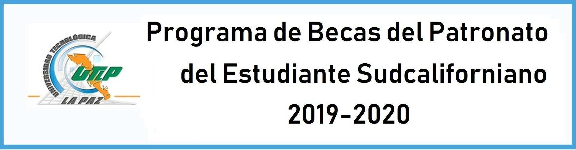 Beca PES 2019-2020