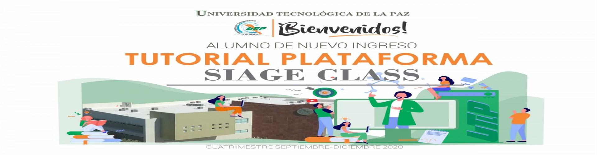 Tutorial SIAGEClass Septiembre - Diciembre 2020